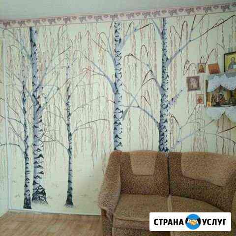 Роспись стен Пронск