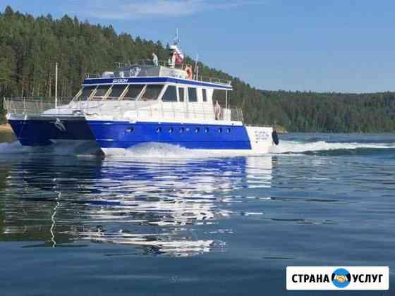 Аренда катера, корабля, прогулки по Байкалу Выдрино