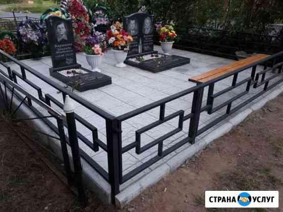 Памятники из мрамора и гранита. Оградки. Венки Лихославль