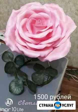 Изготавливаю ростовые цветы, ночники, светильники Псков