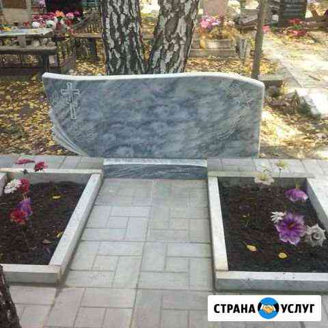 Обкладка могил плиткой Кузнецк