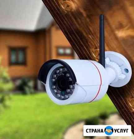 Установка видеонаблюдения Иваново