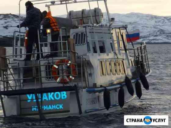 Морская рыбалка в Мурманске Мурманск