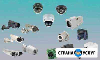 Установка систем видеонаблюдения Новосибирск