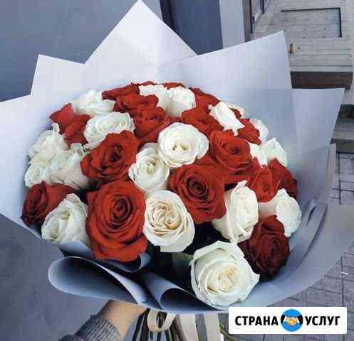 Быстрая доставка роз. Цветы Ростов Ростов-на-Дону