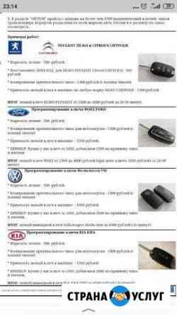 Автомобильные ключи с чипом Ижевск