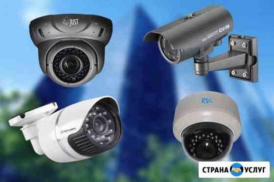 Установка видеонаблюдения и домофонов Грозный