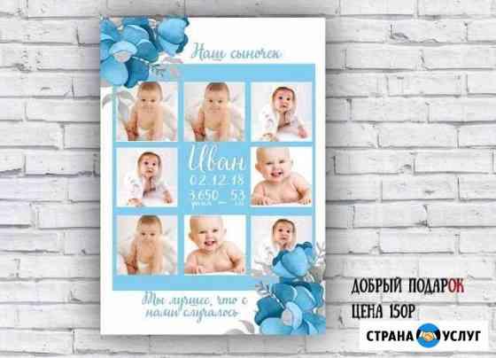Метрика постер Оренбург
