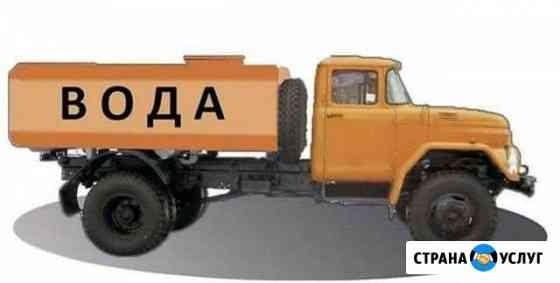 Доставка питьевой воды от 1м3 до 10м3 Усинск