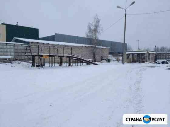 Платная автостоянка (ангар, улица) Смоленск