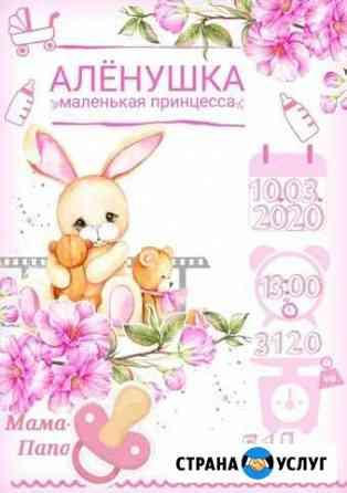 Красочный,постер,метрика Киров