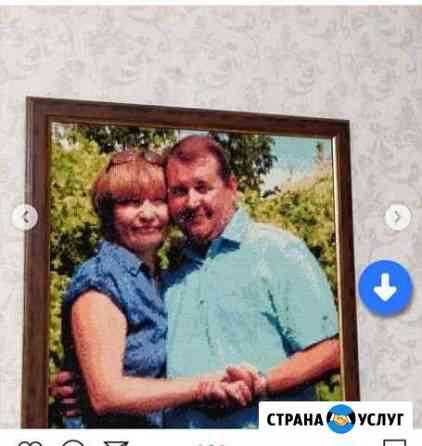 Портрет. выложу ваш портрет по фото алмазной мозаи Нижневартовск