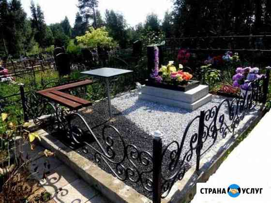 Благоустройство могил Тамбов