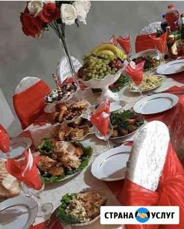Официанты украшение столов, обслуживание на банкет Грозный