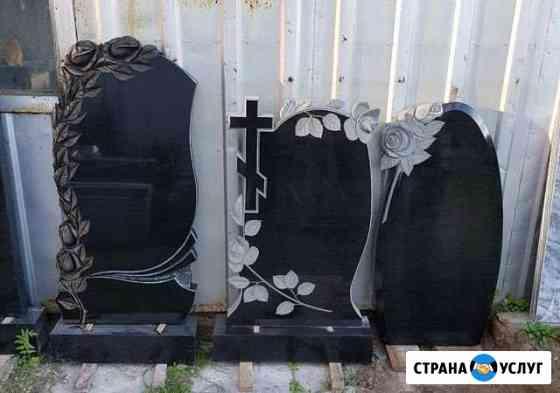 Памятники из гранита, мрамора Каскара