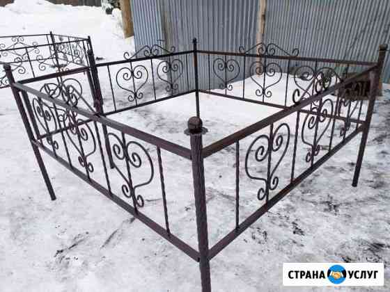 Оградки на кладбище/столы/лавки Томск