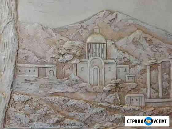Барельеф. Художественная роспись стен Калуга
