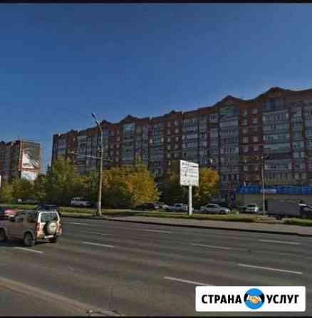 Рекламное место на фасаде дома Ижевск
