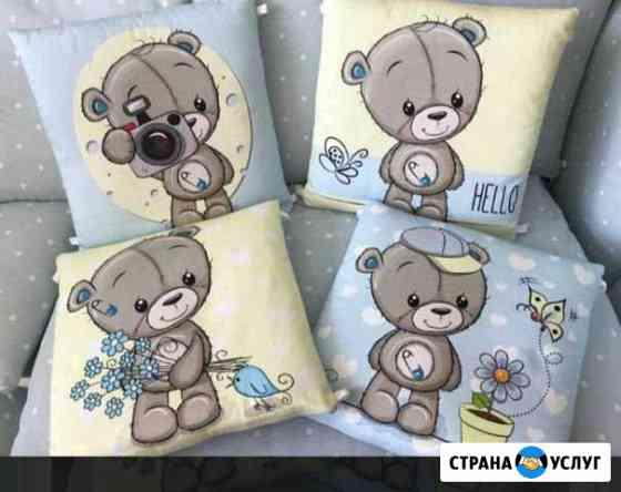 Бортики в детскую кроватку Иваново
