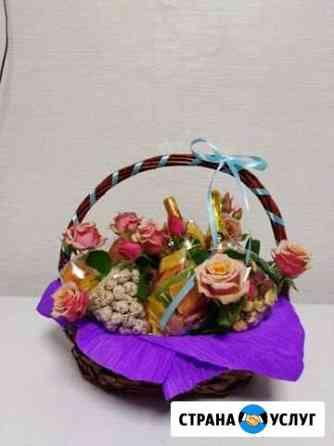 Подарочные корзины, сладкие букеты, боксы Петропавловск-Камчатский