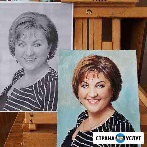Портреты и картины на заказ любые Чебоксары