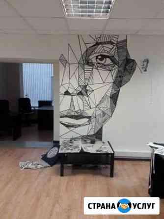 Роспись стен Томск
