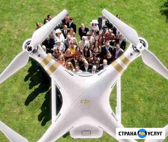 Аэросъемка квадрокоптер DJI Phantom 4Pro и fpvдрон Томск