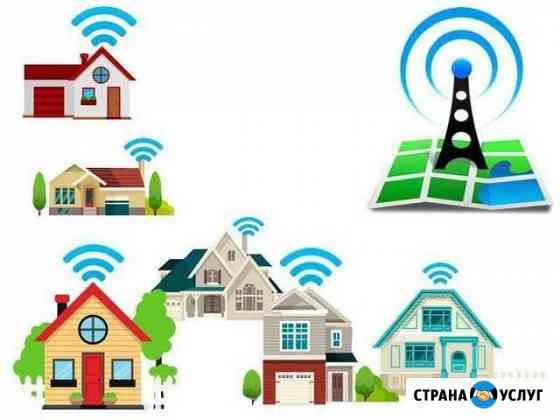 Безлимитный интернет в частный дом,дачу,район,офис Сарапул