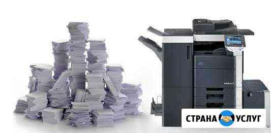 Печать Распечатка Копирование А4 А3 А2 А1 А0 Южно-Сахалинск