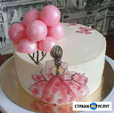 Торт на заказ, муссовый торт, конфеты, зефир Нижний Новгород