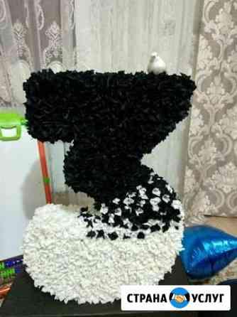 Объемная цифра на день рождения Грозный