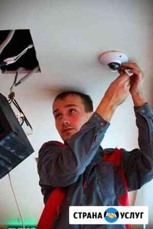 Установка видеонаблюдения за 1 день с гарантией Волгоград