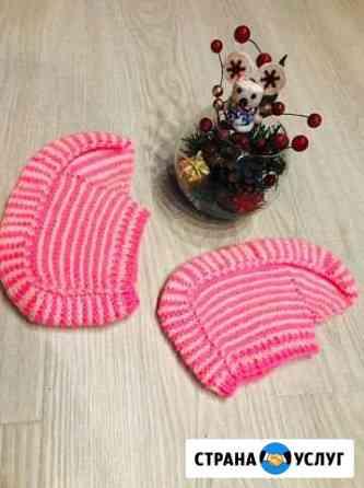 Вязаные носочки Апатиты