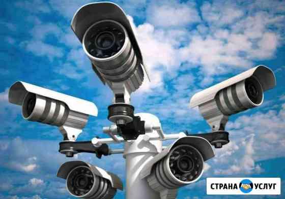 Монтаж систем видеонаблюдения Чита