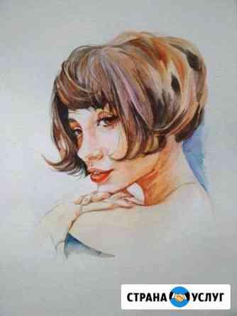 Портрет по фото на заказ Кострома