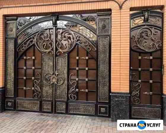 Ворота,периллы,навесы,лестницы Грозный