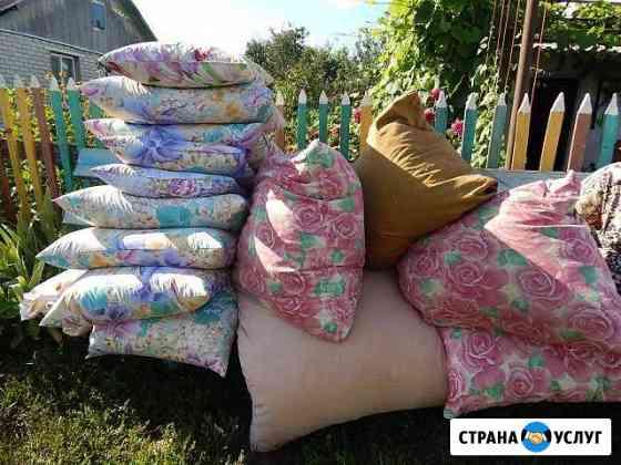 Выездная реставрация подушек перин одеял Курск