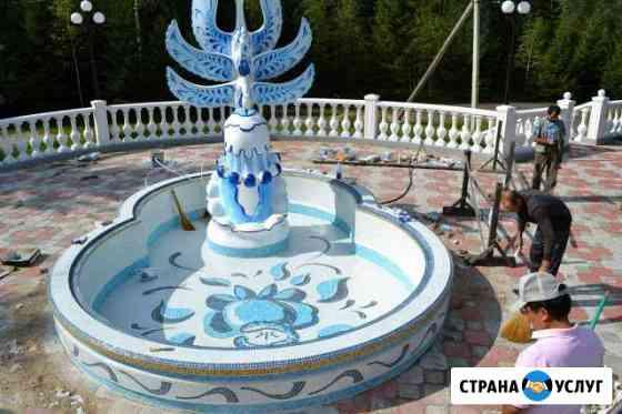 Производство малых архетектурных форм Хабаровск