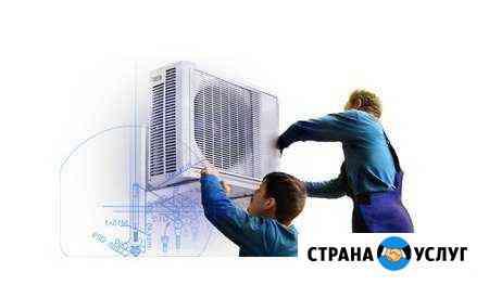 Монтаж кондиционеров, вентиляции, автоматики Ижевск