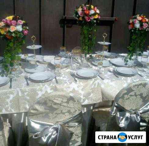 Аренда столы, стулья и посуды Черкесск