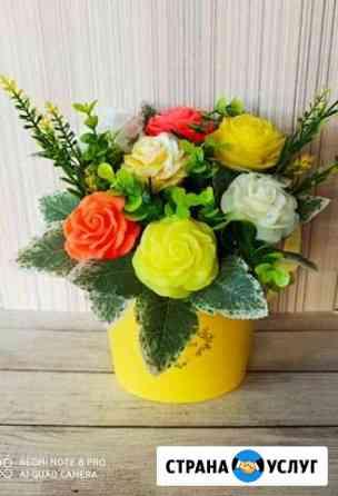 Цветы из мыла Томск