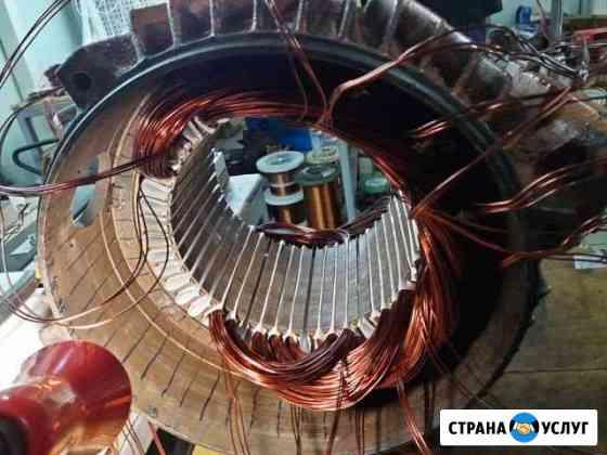 Перемотка и ремонт электродвигателя Орёл