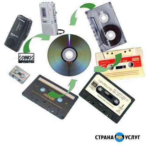 Оцифровка аудио и видеокассет Смоленск