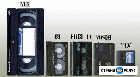 Оцифровка видеокассет Вологда