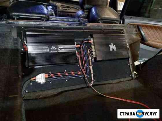 Установка аудио систем любой сложности Омск