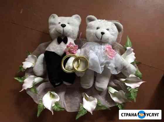 Свадебные украшения на автомобиль Печора