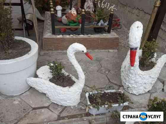 Садовая скульптура, подставки под цветочные горшки Нартан