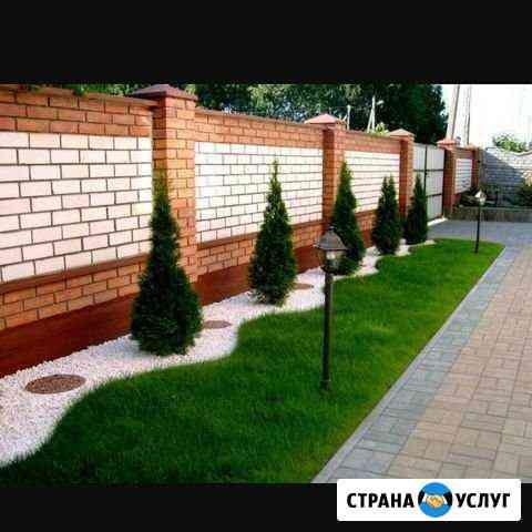 Ландшафтный дизайнер и озеленение территории Грозный