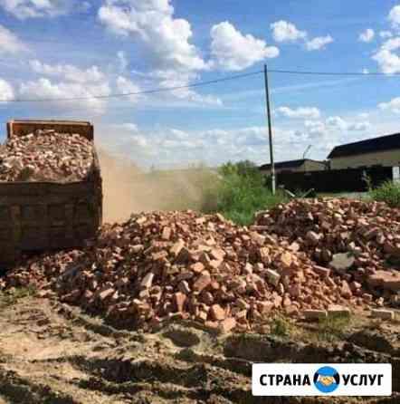 Приму строительный мусор,бой кирпича,глину и т.д Саранск