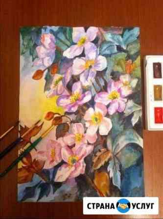 Картины акварелью Саранск